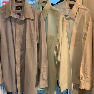 Bundle 3 Men's  dress shirts